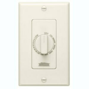 Broan 57v Electronic Variable Speed Control Switch Ivory Ivory