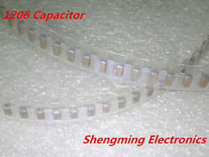 2000pcs 1206 107m 100uf 16v 20 Chip Smd Ceramic Capacitor