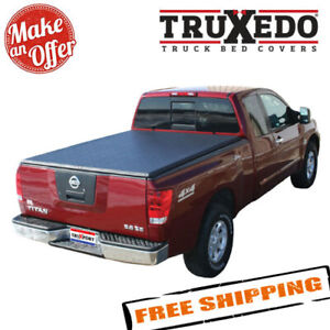 Truxedo 297201 Truxport Tonneau Cover For 04 15 Nissan Titan W Track Sys 5 6