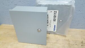 Lot Of 2 Electrical Enclosure Nema 1 12 X 10 X 4 Hinged Electric Box Nos