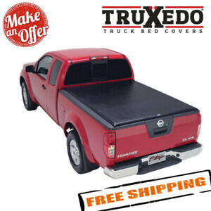 Truxedo 892301 Edge Tonneau Cover For 2005 2019 Nissan Frontier 4 11 Bed