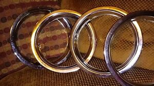 Vintage 13 Inch Beauty Rings Hubcaps 1969 Plymouth Dodge Mopar Accessory