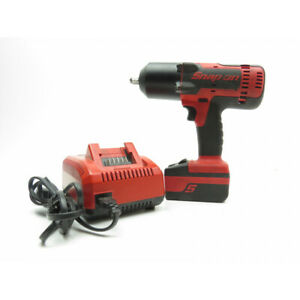 Snap On Ct8850 18v 1 2 Drive Cordless Monster Lithium Impact Wrench Kit