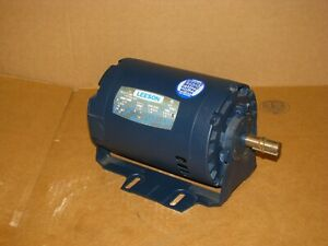 New Leeson 3 4 Hp Ac Motor 101773 00 3450 2850 Rpm 208 230 460v