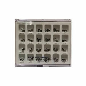 72pc Stainless Steel 1st Primary Crowns Kit Dsc High Quality Fda 3 8010 Full Kit