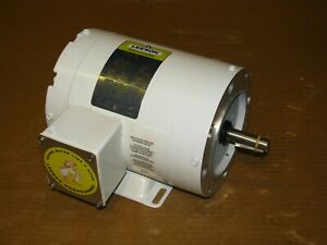 New Leeson 1 2 Hp Washguard Ac Motor 113588 00 3450 2850 Rpm 208 230 460v