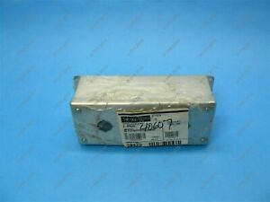 Hoffman E3pbgss 22 5 Mm Pushbutton Enclosure 4 Hole Stainless Steel New