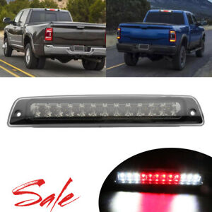 Smoke Led 3rd Brake Cargo Light For 1994 2001 Dodge Ram 1500 1994 2002 2500 3500