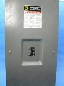 Square D Fal34100 Enclosed Circuit Breaker Disconnect 3 Pole 100 Amps 480vac
