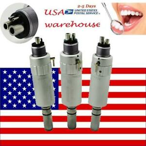 3pcs Dental Air Motor E type Slow Handpiece Classic Type For Dentist Clinic 4h