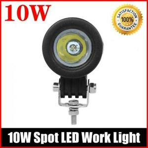10w Cree Led Work Light Spot Offroad Driving Fog Lamp Motorcycle Boat 4x4 Atv