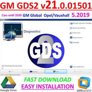 Gm Mdi Diagnostic Software Gds2 V21 Of 20 05 2019 Supports Cars 2020 Release