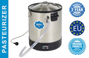 Electric Milk Pasteurizer Electrical 115v Stainless Steel Maker 7 4 Gallon Fj 30