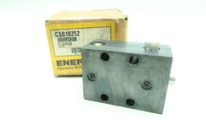Enerpac Csb18252 Hydraulic Cylinder Block 5000psi 0 98in Single Acting