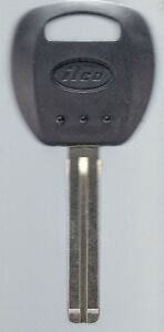 Replacement Transponder Key Blank Fits Kia Borrego And More