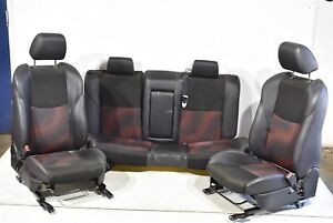2010 2013 Mazdaspeed3 Seat Set Assembly Front Rear Oem Speed 3 Ms3 10 13