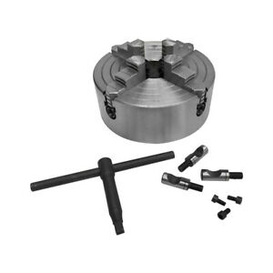 D1 4 Direct Mounting Lathing 8 Inch 4 Jaw Lathe Chuck Independent