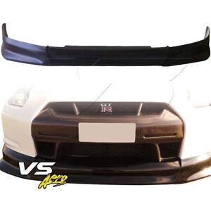 Vsaero Frp Cwes Front Lip Valance For Nissan Gt R Gtr R35 09 12