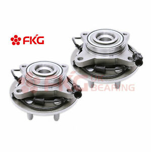 For Ford Expedition Lincoln Navigator 2wd 515042 2 New Front Wheel Bearing Hub
