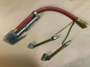 Milton G 1506 Heavy Duty Tire Inflator Gage With 2 Size Dual Heads