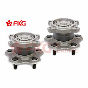 Rear Wheel Bearing Hub Set For Nissan Altima Maxima Non Abs 2 5l 3 5l 512202 X2