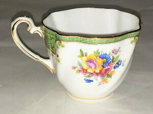 Salisbury Bone China England 2230 Flowers Tea Cup