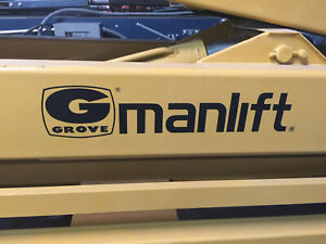 Grove Manlift Model Amz46ne Only 742 Hours In Excellent Condition Used
