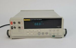 Fluke 45 Dual Display Bench Multimeter 300mv 1000v 30ma 10a