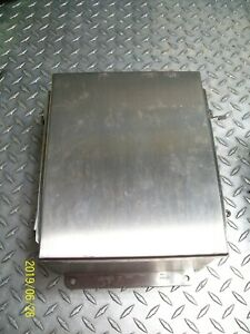 Nos Hoffman A1008nfss Stainless Steel Enclosure