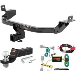 Curt Class 3 Trailer Hitch Tow Package With 2 Ball For 2014 2016 Jeep Cherokee