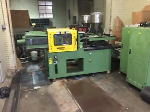 Arburg Allrounder Injection Molding Machine Model 220 75 250 Used Two Available