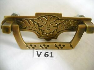 Rare Antique Figural Face Drawer Pull