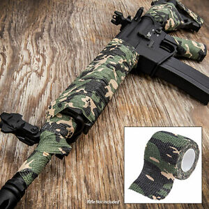 ARMY Tactical Camo Form Protective Camouflage Wrap ACU First Aid Gun Hunt Camp $13.99