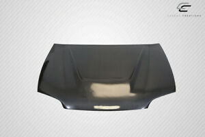 Carbon Creations 2dr Hb Vader Hood 1 Piece For Civic Honda 92 95 Ed11497