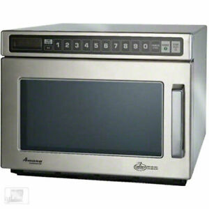Microwave Oven Amana Commercial C max 2100 Watts Model Hdc212