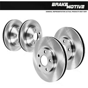 Front And Rear Brake Rotors For 1994 1995 1996 1997 1998 1999 2004 Cobra