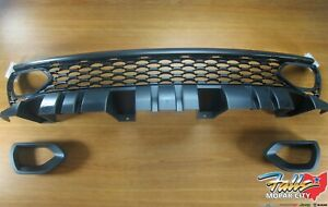2015 2020 Dodge Charger Srt Scat Pack Grill W Left Right Air Inlet Bezels Oem