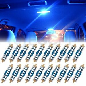 Philips Ultinon LED Festoon 578 Blue 10000K Map License Plate Dome Trunk X 1