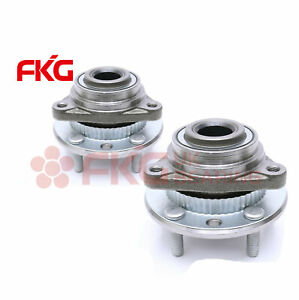 Front Wheel Hubs Bearings Pair Set Of 2 New For Chevy Gmc Olds 4wd 4x4 513061