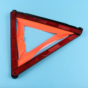 New Car Triangle Safety Warning Parking Sign Reflective Foldable Road Emergency