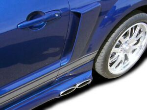05 09 Ford Mustang Couture Urethane Cvx Side Scoop 2pc 104798