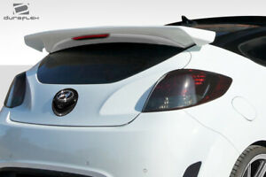 For 12 17 Hyundai Veloster Turbo Duraflex Sequential Rear Wing Spoiler 112723