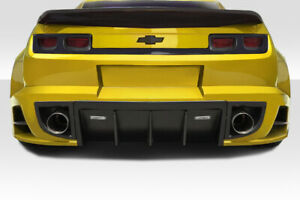 10 13 Chevy Camaro Duraflex Ccg Wide Body Rear Diffuser 113056