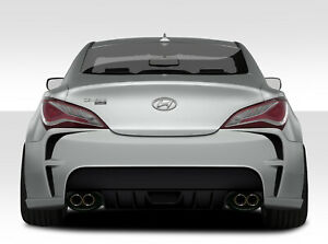 For 10 16 Hyundai Genesis Coupe 2dr Duraflex Vg R Rear Bumper 109639