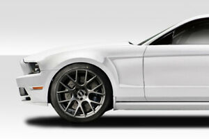10 14 Ford Mustang Duraflex Gt Concept Fenders 2pc 112739