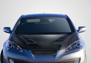 For 10 12 Hyundai Genesis Coupe 2dr Carbon Fiber Dritech Rs 1 Hood 113144