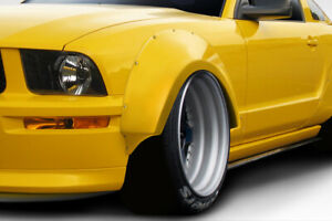 05 09 Mustang Duraflex Circuit Wide Body 75mm Front Fender Flares 2pc 112635