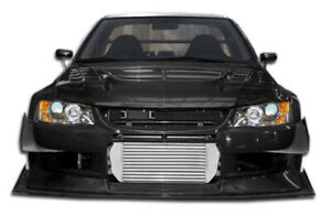 03 06 Mitsubishi Lancer Evolution 8 9 Duraflex Vt x Widebody Front Bumper 107211