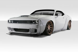 15 19 Dodge Challenger Duraflex Circuit Wide Body Kit 15pcs 113912