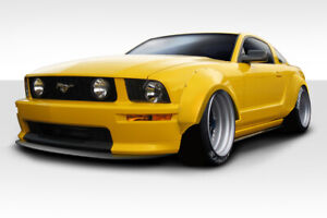 05 09 Ford Mustang Duraflex Circuit Wide Body 75mm Fender Flares 4p 112888